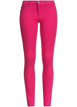 skinny jeans hot pink