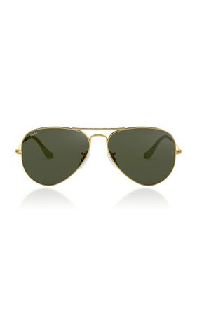 Aviator Metal Sunglasses By Ray-Ban | Moda Operandi