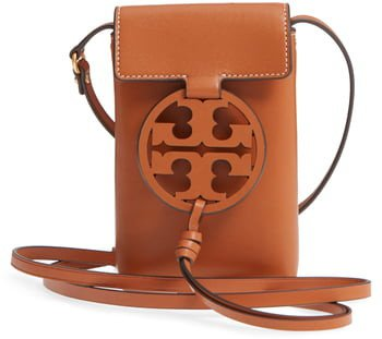 Miller Leather Phone Crossbody Bag