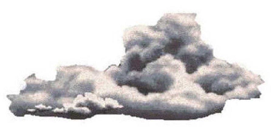 vintage painted cloud
