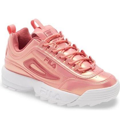 FILA Disruptor 2 Liquid Luster Sneaker (Women) | Nordstrom