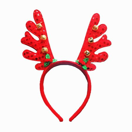 DressLily.com: Photo Gallery - Christmas Plush Hat Antlers Fancy Dress Costume Accessory