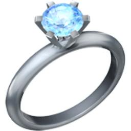 Ring Emoji (U+1F48D)