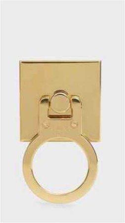 Céline Gold Phone Ring