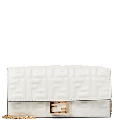 Fendi - Clutch portafoglio Baguette in nappa | Mytheresa