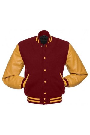 red and gold letterman jacket - Google Search