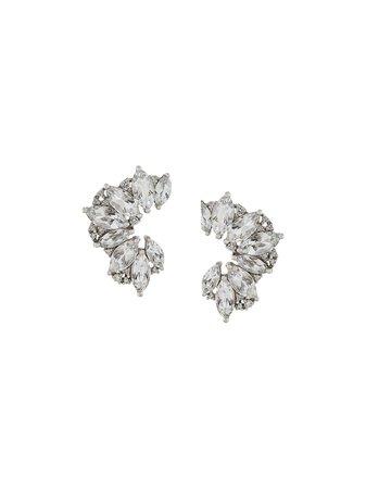 Elise Dray topaz & diamond earrings ED1751 metallic | Farfetch