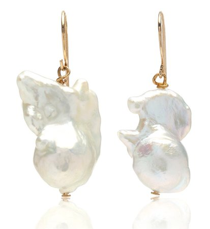Carolina Herrera Baroque Pearl Earrings €352