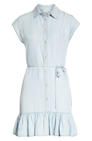 BB Dakota Sway Chambray Shirtdress | Nordstrom