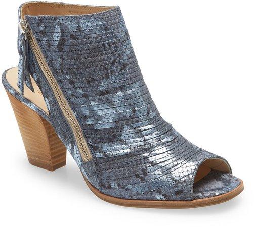 'Cayanne' Leather Peep Toe Sandal