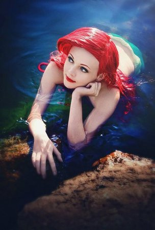 Fantasy | Magic | Fairytale | Surreal | Myths | Legends | Stories | Dreams | Adventures | Ariel | mermaid | Cosplay, Mermaid cosplay, Little mermaid cosplay