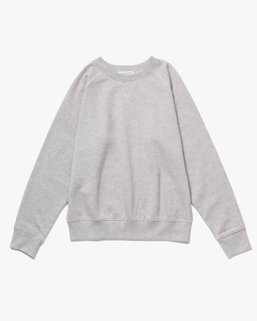Fleece Sweatshirt | Heather Grey Crewneck Sweatshirt | Richer Poorer