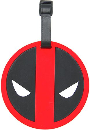 Amazon.com: CellDesigns Cartoon Luggage Tag Suitcase ID Tag with Adjustable Strap (Cap America Shield): Office Products