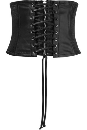 McQ Alexander McQueen | Leather corset belt