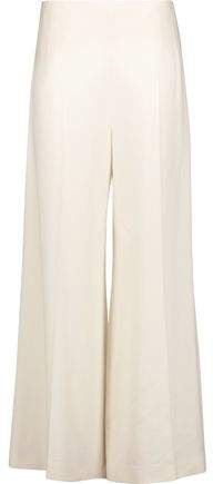 Brad Crepe Wide-leg Pants