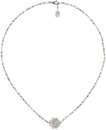 Flora Flower Pendant Necklace