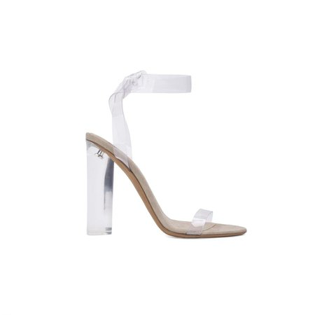 PVC ANKLE STRAP HIGH HEEL | YEEZY SUPPLY