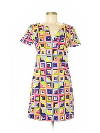 NWT Trina Turk Women Yellow Casual Dress 8   eBay