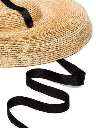 Eliurpi Nat Straw Fascinator Hat Ss20 | Farfetch.com
