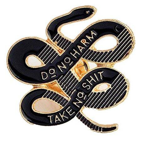 Janedream Bohemian Snake Brooch
