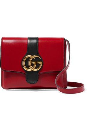 Gucci | Arli two-tone leather shoulder bag | NET-A-PORTER.COM