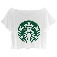 Starbucks t shirt crop top – RechercheGoogle