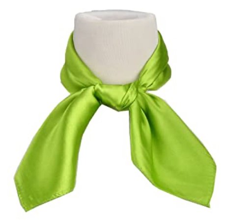 lime green neck scarf