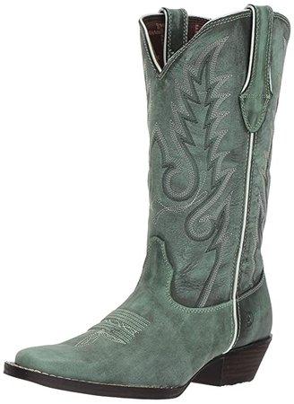 Amazon.com | Durango Dream Catcher Women's Teal Western Boot | Boots