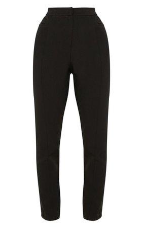 Avani Black Suit Pants | Pants | PrettyLittleThing USA