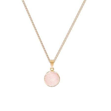 pink pendant necklace - Pesquisa Google