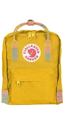 yellow mini fjallraven