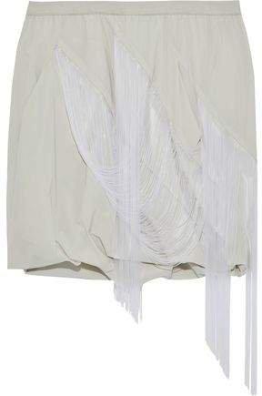Fringed Draped Shell Shorts