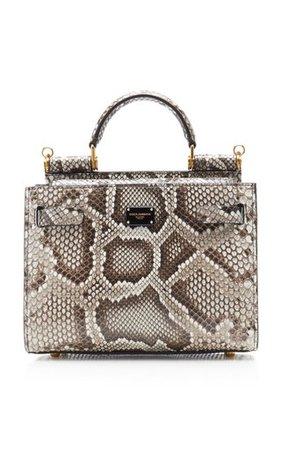 Mini Croc-Effect Leather Play Bag by gu_de   Moda Operandi