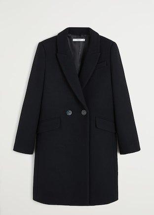 Lapels wool coat - Women | Mango United Kingdom