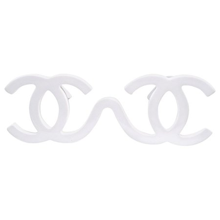 Chanel Vintage Runway Piece Sunglasses Made In Italy, F / W 1994