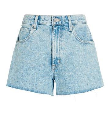 SLVRLAKE Farrah Cut-Off Denim Shorts | INTERMIX®