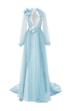 Marchesa Blue gown