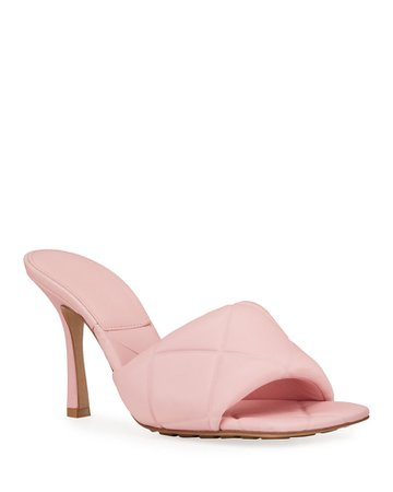 Bottega Veneta The Rubber Lido Sandals   Neiman Marcus