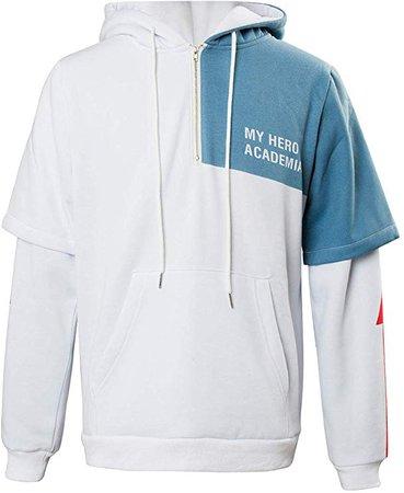 Amazon.com: NoveltyBoy Boku No Hero Academia My Hero Academia Bakugou Katsuki Shoto Todoroki Hoodies Sweatshirt Cosplay Costume Jacket: Clothing