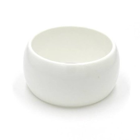 white cuff bracelet