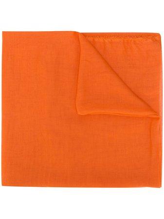 Faliero Sarti Lightweight Cashmere Scarf TOBIAU0154 Orange | Farfetch