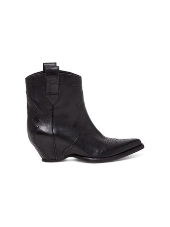 Maison Margiela Sendra Texans In Leather