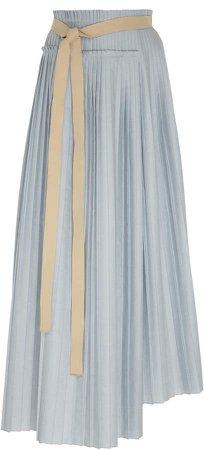 ROKSANDA Lafia Asymmetric Maxi Skirt Size: 10