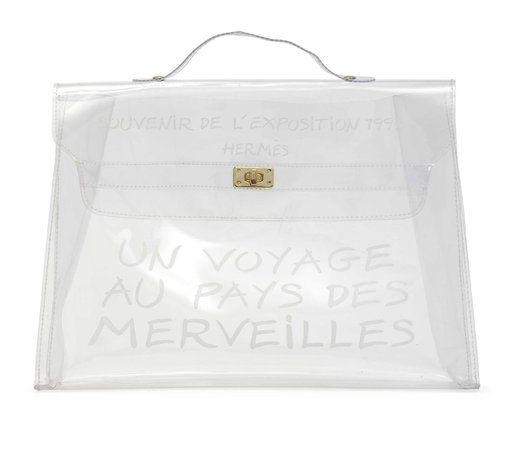 clear hermes bag - Google Search