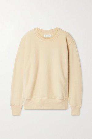 Cotton-jersey Sweatshirt - Beige