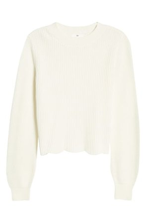 BP. Scallop Hem Sweater | Nordstrom