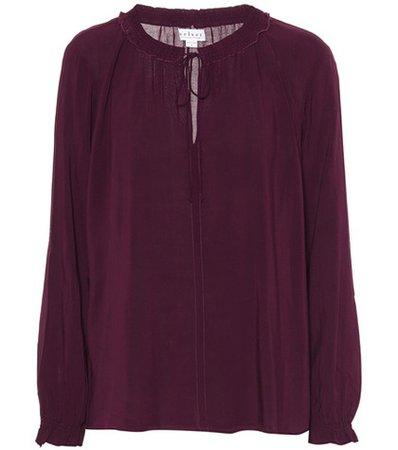 Samantha challis peasant blouse