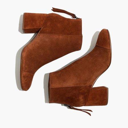 The Jillian Boot in Suede