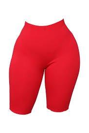 red biker shorts - Google Search