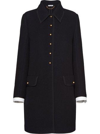 Miu Miu, Wool Knit Coat